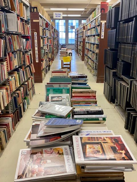 Ohio Book Store multiple floors