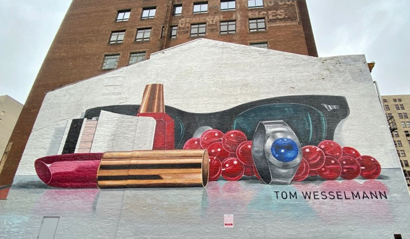Mural in Downtown Cincinnati, Ohio
