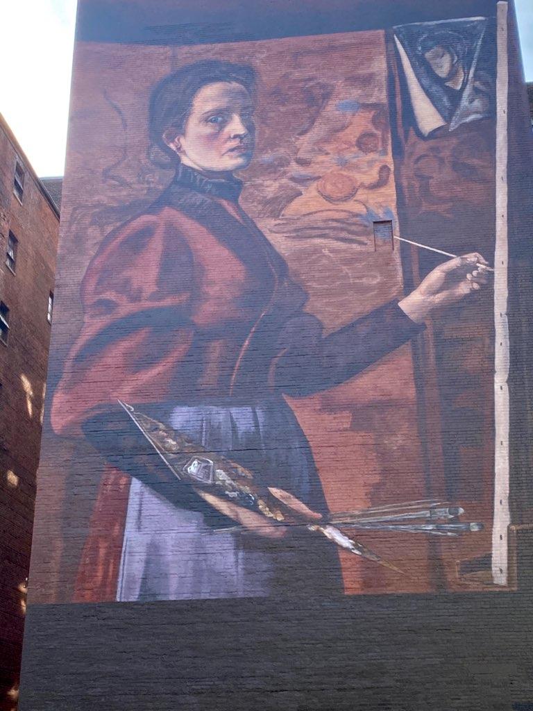 Elizabeth Nourse mural in Cincinnati, Ohio