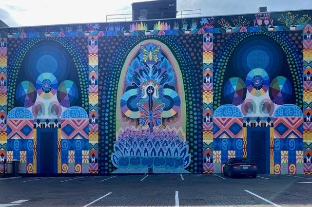 Mural in Downtown Cincinnati