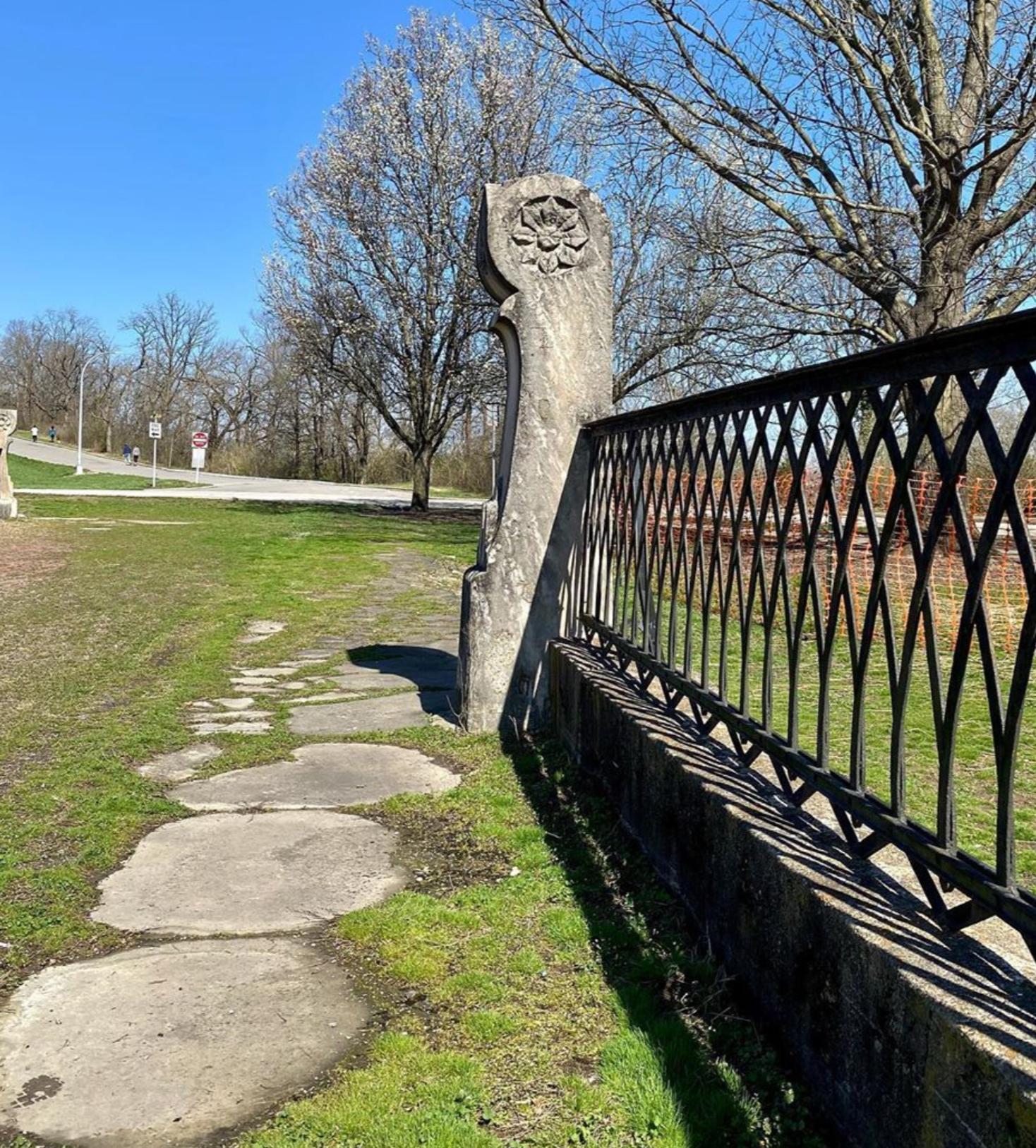 Bridge at Eden Park in Cincinnati, Ohio