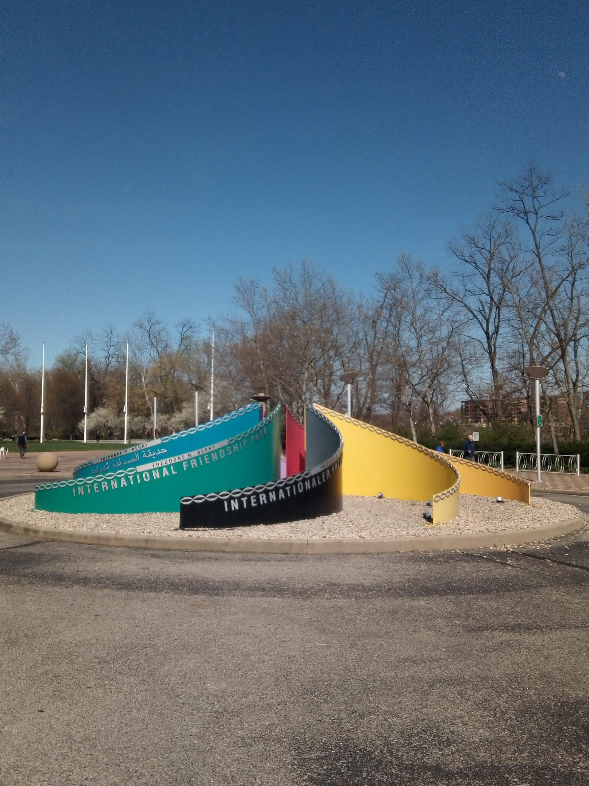 International Friendship Park in Cincinnati, Ohio