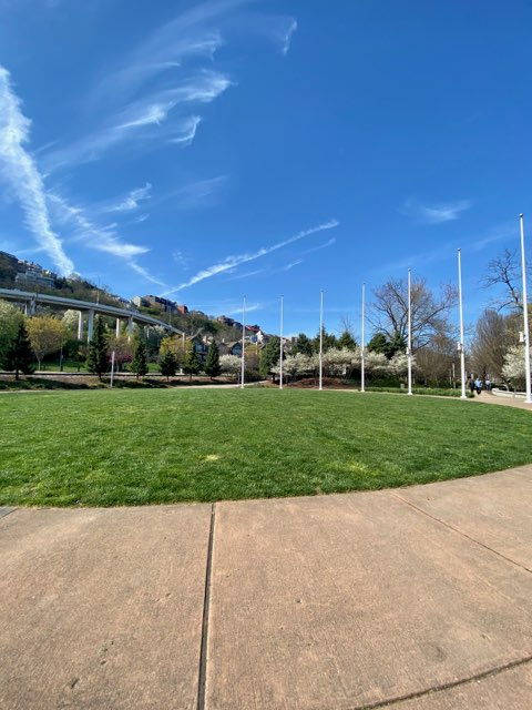 International Friendship Park near the Ohio River
