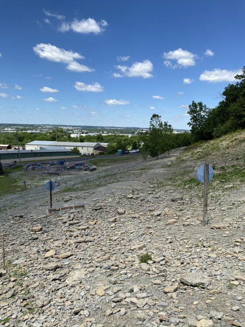 Trammel Fossil Park in Sharonville, Ohio