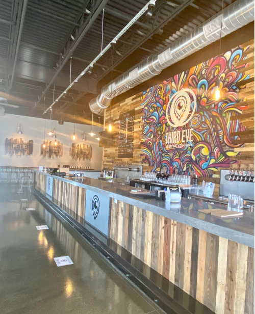 Third Eye Brewing Company in Sharonville, Ohio