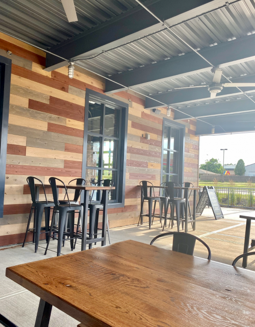 Third Eye Brewing Company outdoor seating