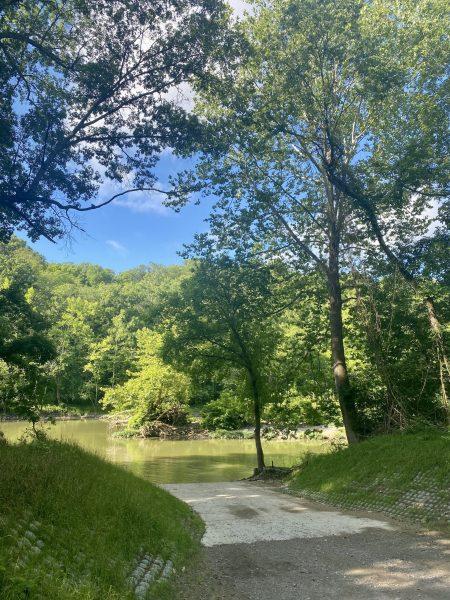 Canoe and kayak at Kelley Nature Preserve
