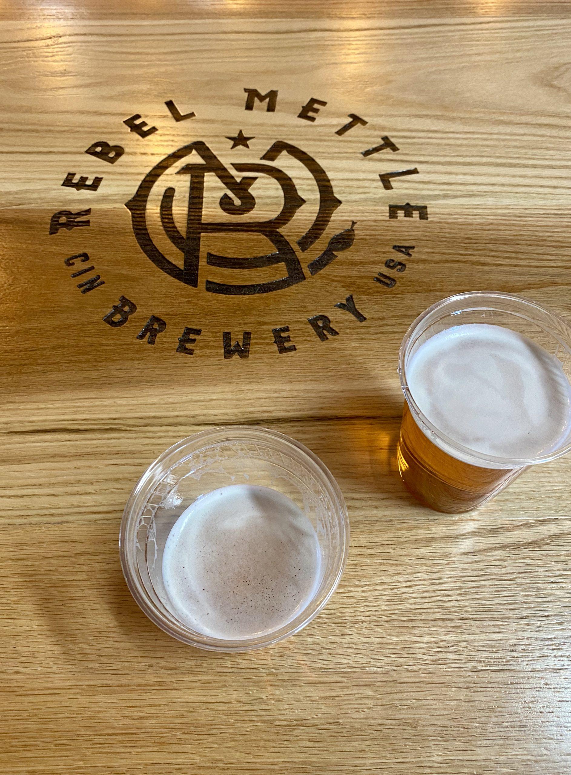 Rebel Mettle Brewery in Cincinnati, Ohio